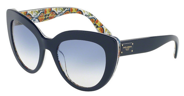 Dolce & Gabbana DG4287 308219 BLUE GRADIENTTOP BLUE ON MAJOLICA