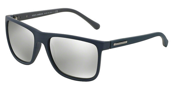 Dolce & Gabbana DG6086 29346G LIGHT GREY MIRROR SILVERAVIO RUBBER