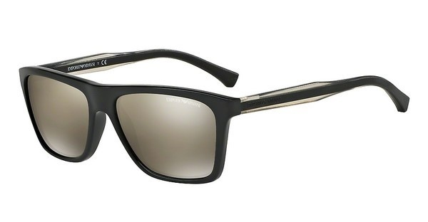 Emporio Armani EA4001 50175A LIGHT BROWN MIRROR DARK GOLDBLACK