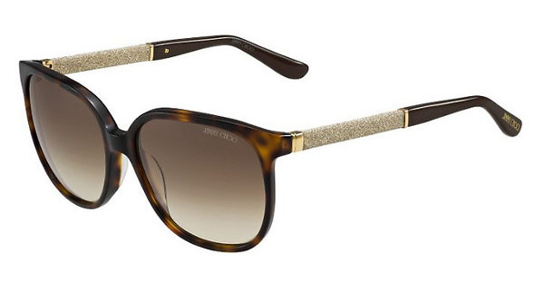 Jimmy Choo PAULA/S VUU/JD BROWN SFHV GLTTBW