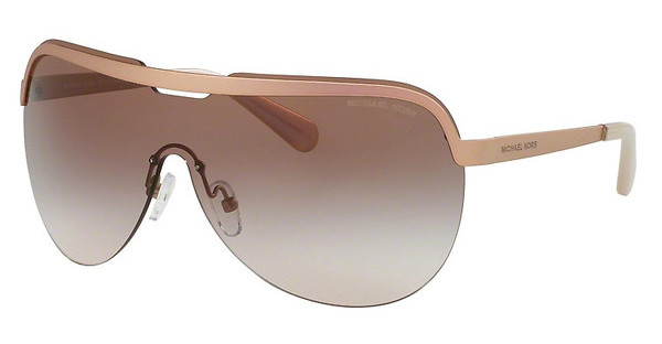 Michael Kors MK1017 114113 BROWN PEACHMATTE ROSE GOLD IRIDESCENT