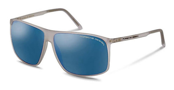 Porsche Design P8594 B light blue, silver mirroredcrystal