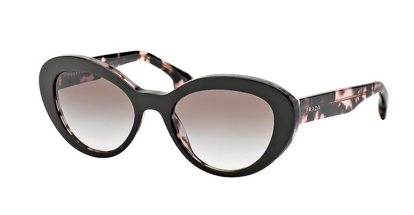 Prada PR 15QS ROL0A6 BROWN GRADIENTTOP BROWN/PINK HAVANA