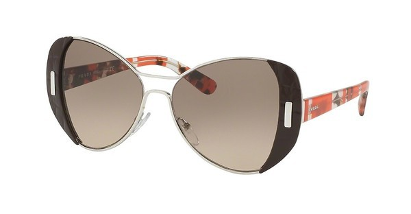 Prada PR 60SS DHO3D0 BROWN GRADIENTSILVER/BROWN