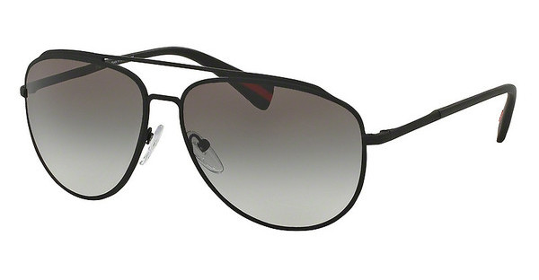 Prada Sport PS 55RS DG00A7 GREY GRADIENTBLACK RUBBER
