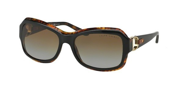 Ralph Lauren RL8107Q 5260T5 GRADIENT BROWN POLARTOP BLACK/HAVANA