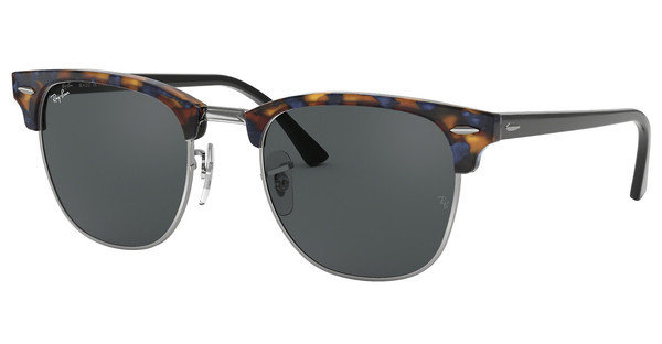 Ray-Ban RB3016 1158R5 GREYSPOTTED BLUE HAVANA