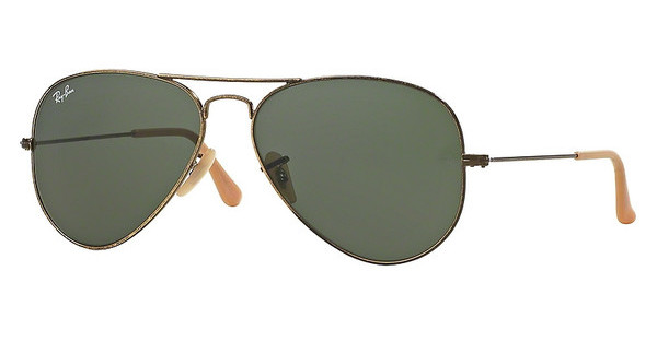 Ray-Ban RB3025 177 GREENANTIQUE GOLD