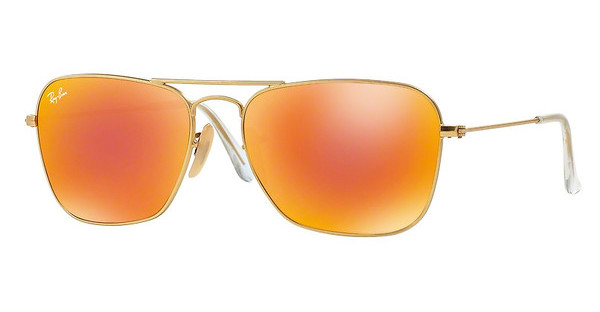 Ray-Ban RB3136 112/69 BROWN MIRROR REDMATTE GOLD