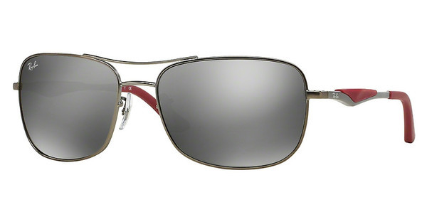 Ray-Ban RB3515 029/6G GREY MIRROR SILVERMATTE GUNMETAL