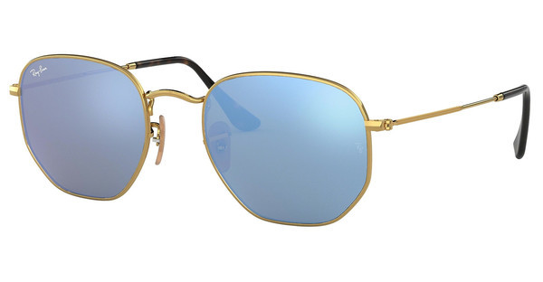 Ray-Ban RB3548N 001/9O LIGHT BLUE FLASHGOLD