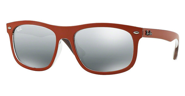 Ray-Ban RB4226 619088 GREY MIRROR SILVER GRADIENTTOP MAT ORANGE ON VIOLET