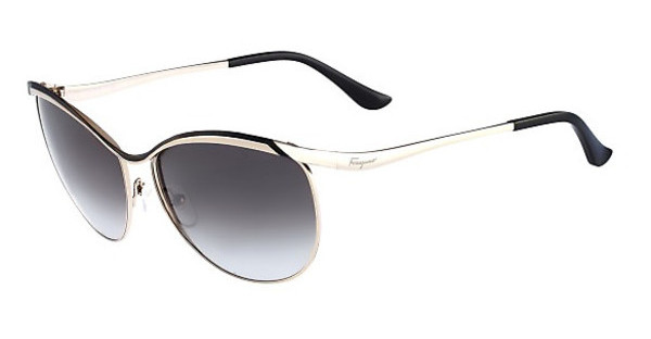 Salvatore Ferragamo SF147S 733 SHINY GOLD W-BLACK