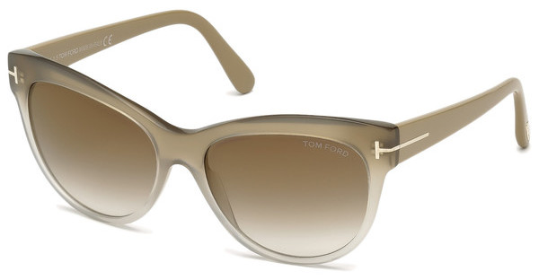 Tom Ford FT0430 59G braun verspiegeltbeige