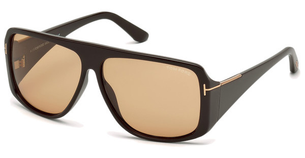 Tom Ford FT0433 48J roviexbraun dunkel glanz