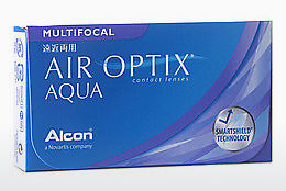 Lensler Alcon AIR OPTIX AQUA MULTIFOCAL (AIR OPTIX AQUA MULTIFOCAL AOM6H)