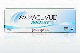 Lensler Johnson & Johnson 1 DAY ACUVUE MOIST 1DM-90P-REV