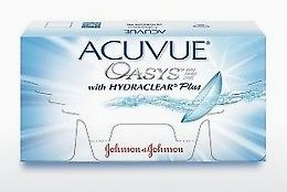 Lensler Johnson & Johnson ACUVUE OASYS with HYDRACLEAR Plus PH-12P-REV