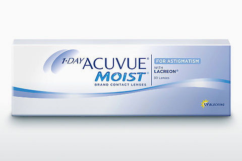 Lensler Johnson & Johnson 1 DAY ACUVUE MOIST for ASTIGMATISM 1MA-30P-REV