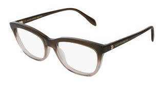 Alexander McQueen AM0161O 003 BROWN