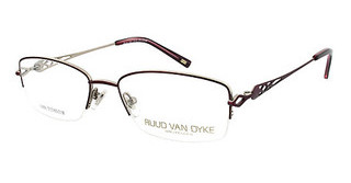 Ruud van Dyke 0559T 1 semimatt dark red/shiny gold