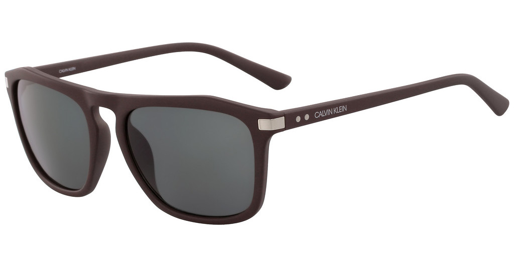 Calvin Klein   CK18537S 201 MATTE DARK BROWN