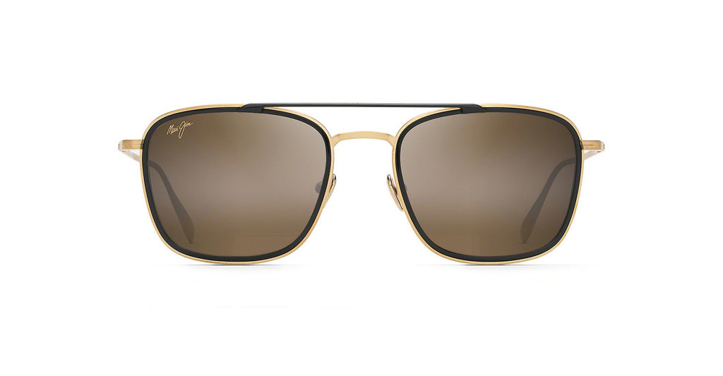 Maui Jim   Following Seas H555-16M BronzeGold Schwarz