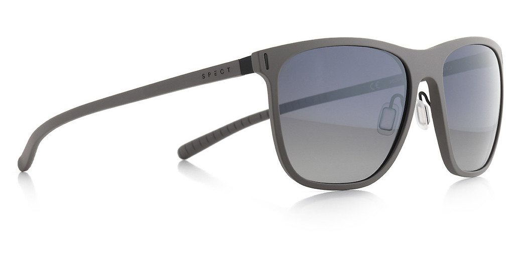 SPECT   SOLID 003P smoke gradient with silver flash POLgrey