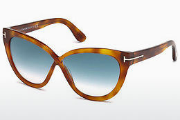 Güneş gözlüğü Tom Ford Arabella (FT0511 53W) - Havana rengi, Yellow, Blond, Brown