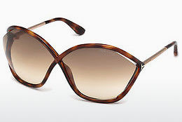 Güneş gözlüğü Tom Ford Bella (FT0529 53F) - Havana rengi, Yellow, Blond, Brown