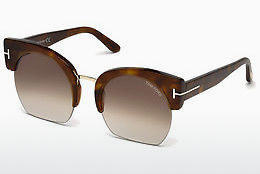Güneş gözlüğü Tom Ford Savannah (FT0552 53F) - Havana rengi, Yellow, Blond, Brown