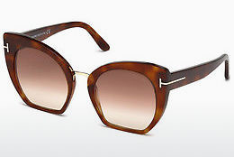 Güneş gözlüğü Tom Ford Samantha (FT0553 53F) - Havana rengi, Yellow, Blond, Brown