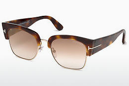 Güneş gözlüğü Tom Ford Dakota (FT0554 53G) - Havana rengi, Yellow, Blond, Brown