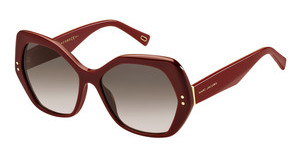 Marc Jacobs MARC 117/S OPE/K8 BROWN SFBURGUNDY
