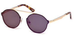 Web Eyewear WE0181 82Z violett ver.violett matt