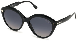 Tom Ford FT0763 01D grau polarisierendschwarz glanz