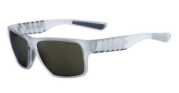 Nike   NIKE MOJO R EV0786 901 MATTE CRYSTAL CLEAR/METALLIC SILVER WITH SMOKE W/SUPER SILVER FLASH  LENS
