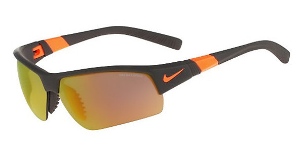 Nike   SHOW X2 PRO R EV0806 208 MATTE DEEP PEWTER/TOTAL ORANGE/SHATTER WITH GREY W/ ML ORANGE FLASH /GREY